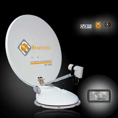 ASR 680 DF Satellite for Motorhome TV System
