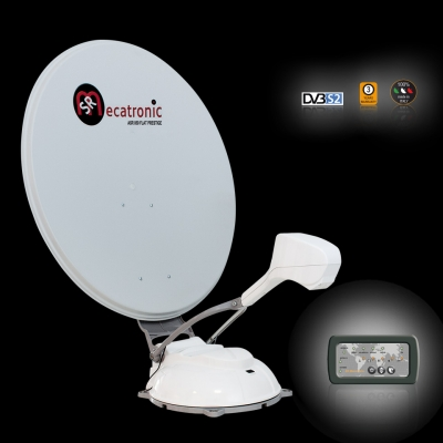 ASR Flat 900 Prestige for Motorhome Satellite TV System